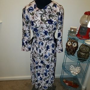 Topshop Floral BOHO Romantic Dress SZ4